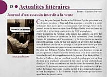 Article de la revue La plume et l'épée de mai 2014.